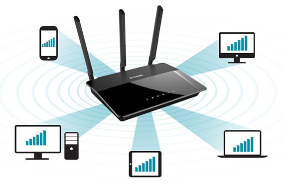 d-link  - d link2 - Best Wireless 802.11ac routers under 200 dollars in 2018 – MBReviews