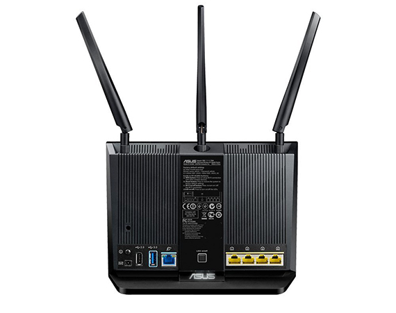 asus  - asus ac1900 - Best Wireless 802.11ac routers under 200 dollars in 2018 – MBReviews