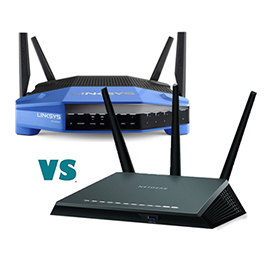 NETGEAR Nighthawk AC1900 R7000 vs Linksys WRT1900ACS