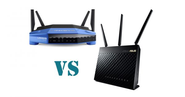 Asus RT-AC68U vs Linksys WRT1900ACS – MBReviews