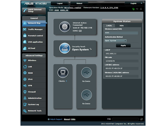 ASUS RT-AC55U Dual-Band Wireless AC1200 Router Review – MBReviews