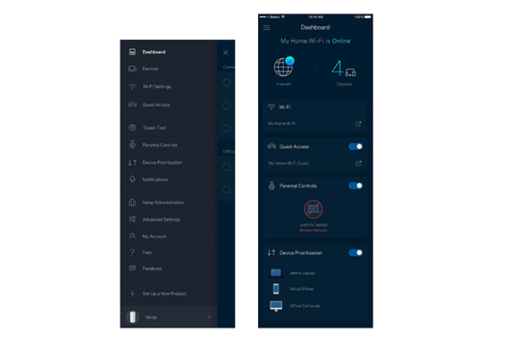 Linksys velop ac6600 whw0303 whole home mesh wi fi review page 2 so to perform the initial setup you have to download the app to your tabletsmartphone and follow the on screen instructions first youll be asked if greentooth Choice Image