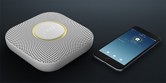 nest  - nest protect 1 - The best smoke detectors of 2018 – MBReviews