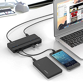 QICENT 7-Port USB 3.0 Hub (QIC H7P) Review