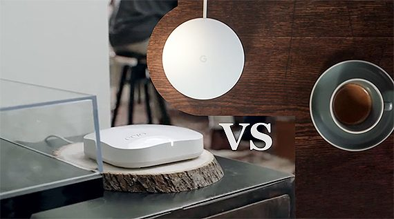 eero-vs-google  - eero 2nd gen vs google 570x317 - Google WiFi vs Eero Home WiFi (Second Generation) – MBReviews