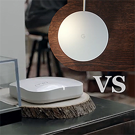 Google WiFi vs Eero Home WiFi (Second Generation)