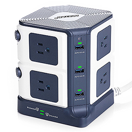 Bestek 8-Outlet Power Strip and Surge Protector Review