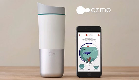 ozmo  - ozmo bottle 1 570x327 - The best smart water bottles of 2018 – MBReviews