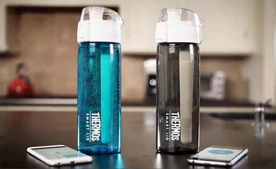 thermos  - thermos 24 ounce smart bottle 1 570x350 - The best smart water bottles of 2018 – MBReviews