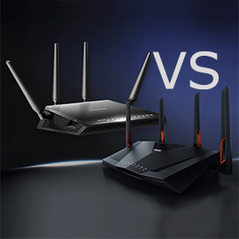 Asus RT-AC88U vs NETGEAR Nighthawk X4S R7800 – MBReviews