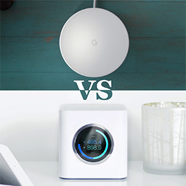 Google WiFi vs AmpliFi HD Home WiFi System