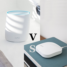 Netgear Orbi vs Eero Pro WiFi System (Second Generation)