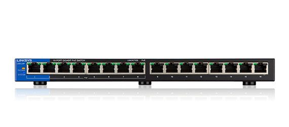 linksys-lgs116p-ethernet-switch  - linksys lgs116p 2 570x251 - Best Ethernet Switches of 2018 – Managed, Unmanaged and Web-Smart – MBReviews