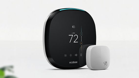 ecobee  - ecobee4 1 570x318 - Ecobee4 vs Nest Learning Thermostat Gen 3 – MBReviews