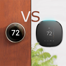 Ecobee4 vs Nest Learning Thermostat Gen 3