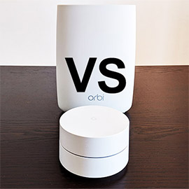 Netgear Orbi vs Google WiFi