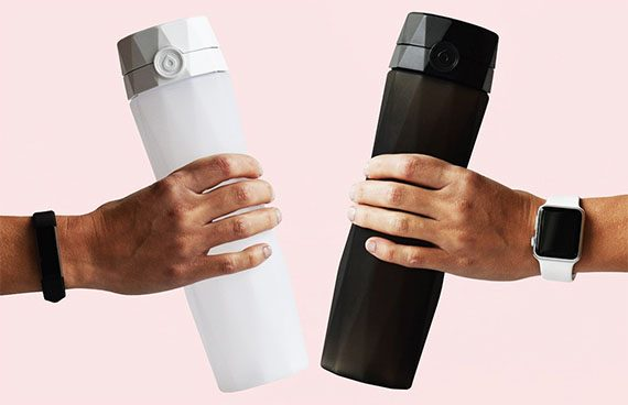 hidrate-spark  - hidrate spark 4 570x368 - The best smart water bottles of 2018