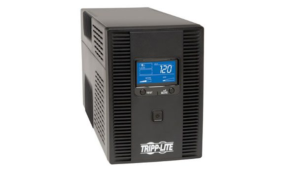 tripp-lite-smart1500lcdt  - tripp lite smart1500lcdt ups 2 570x353 - The Best UPS (Uninterruptible Power Supplies) of 2018 – MBReviews