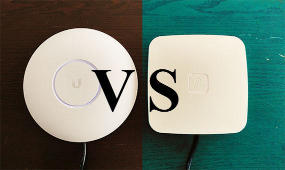ubiquiti unifi uap ac pro vs open mesh a60 access point mbreviews