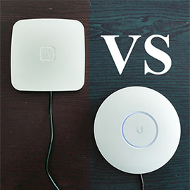 Ubiquiti UniFi UAP-AC-PRO vs Open Mesh A60 Access Point