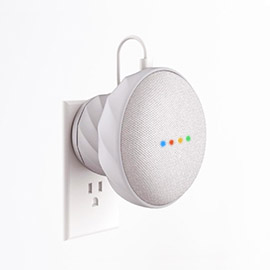 KIWI Design G2 Silicone Magnetic Wall Mount for Google Home Mini
