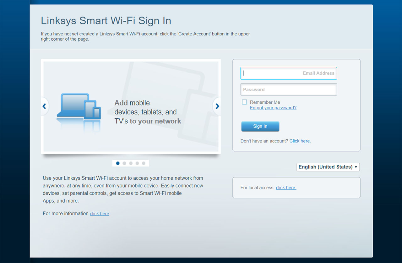 login-linksys