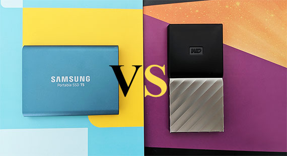 Samsung T5 SSD vs WD My Passport SSD – MBReviews