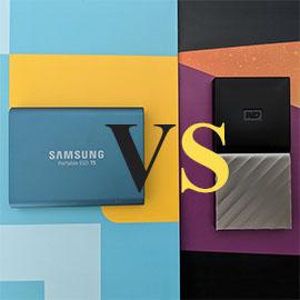 Samsung T5 SSD vs WD My Passport SSD
