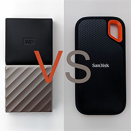 SanDisk Extreme vs WD My Passport SSD