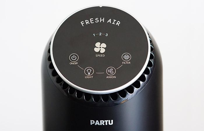 partu-air-purifier-controls-panel