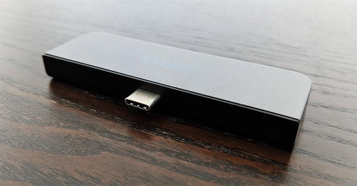 choetech-usb-c-hub-ipad-pro-hub-m13-connector