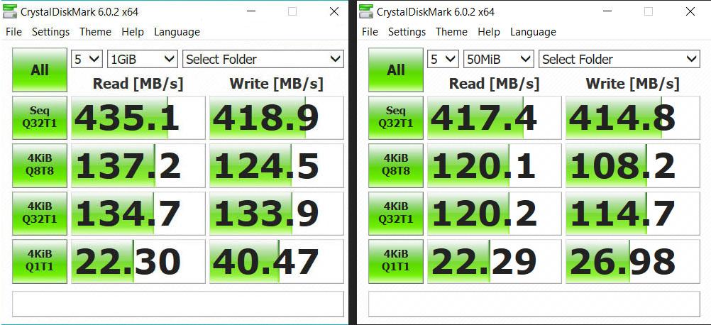 kensington-sd2500t-storage-performance