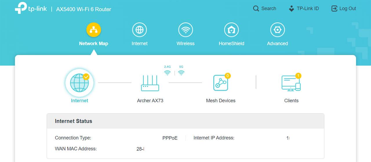 tp-link-archer-ax73-web-based-ui